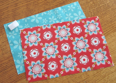 "5"" x 8"" pieces, 1"" velcro"
