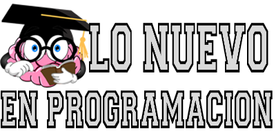 Lo Nuevo En Programación