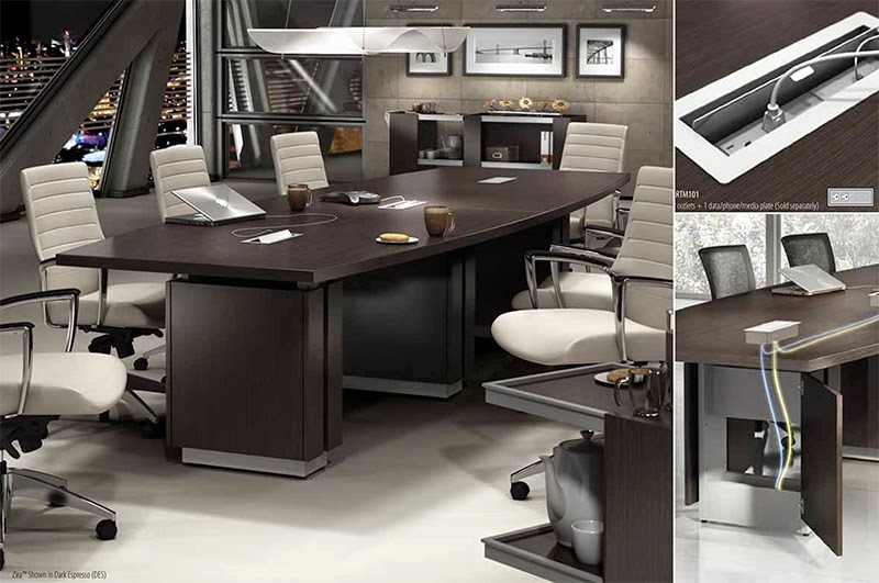 Powered Conference Room Furniture