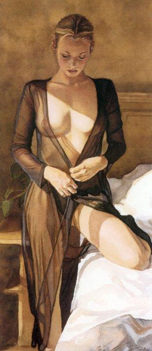 Steve Hanks 1949 | American Watercolor painter