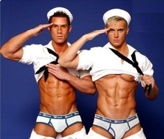 sexy male sailors, marine boys in underwear, sexy male maritime corps