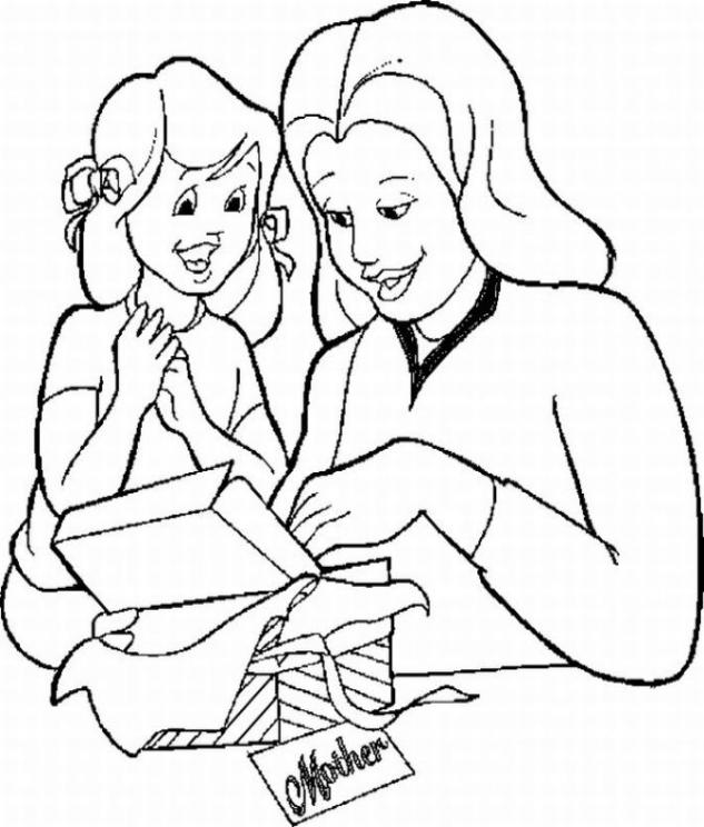 Mother's Day 999 Coloring Pages