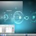 Painel do KDE com a cara do Unity