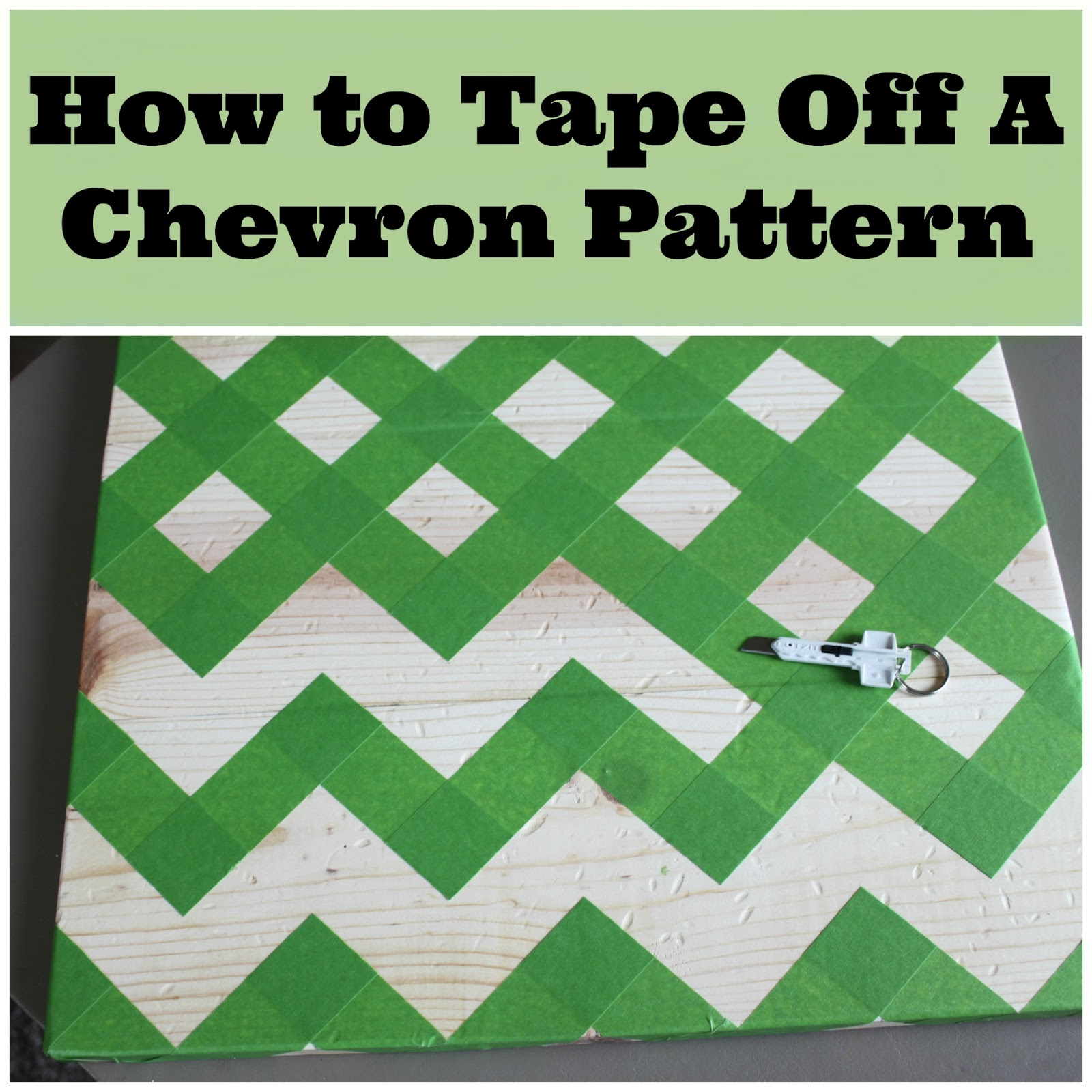 2 crafty 4 my skirt how to tape off a chevron pattern With how to make a chevron template