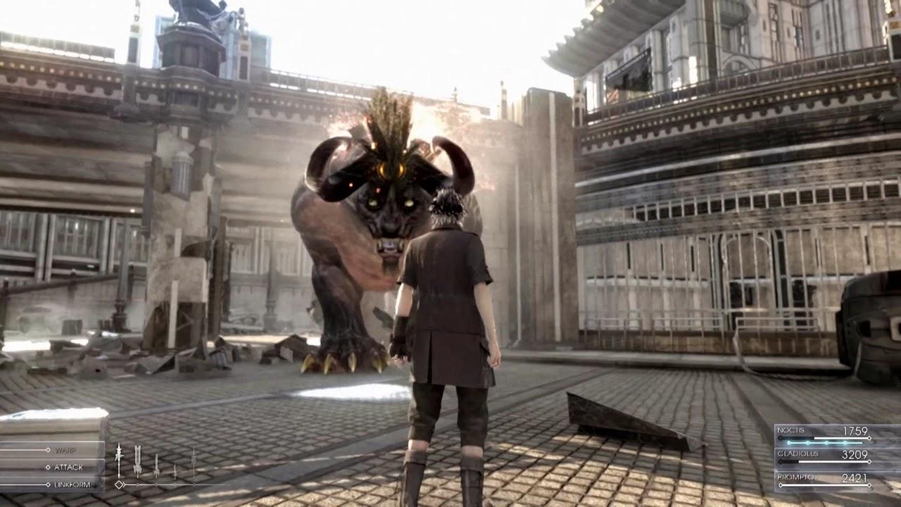 El próximo lanzamiento de Final Fantasy XV