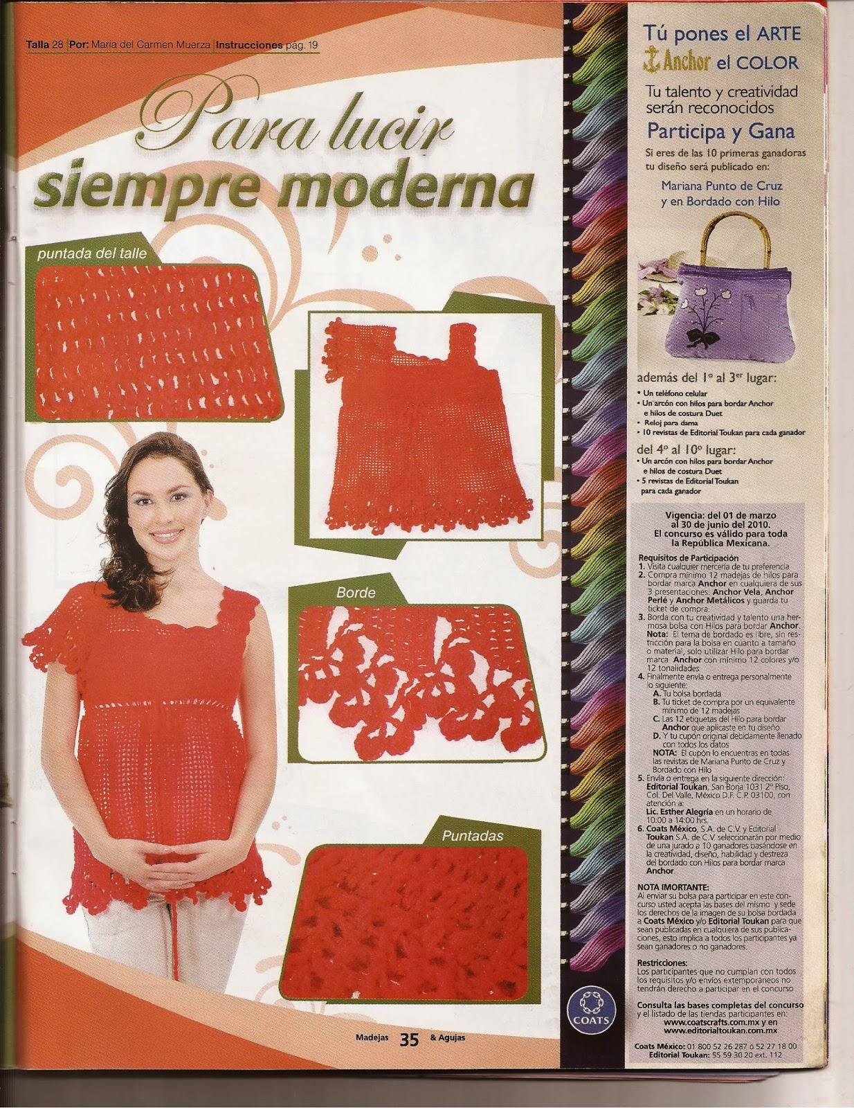 Cómo hacer chalinas paso a paso - Revistas de crochet y tejidos