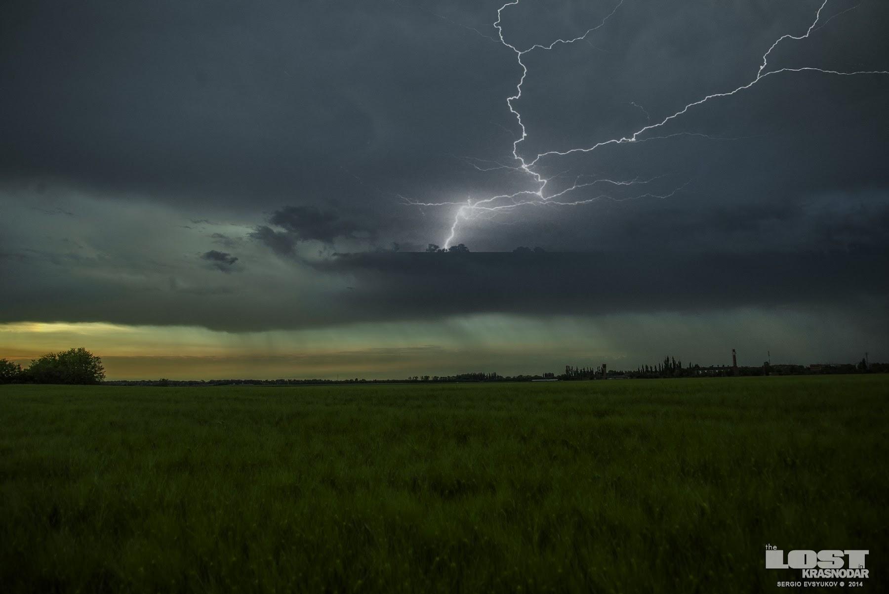 Ураган в пригороде Краснодара