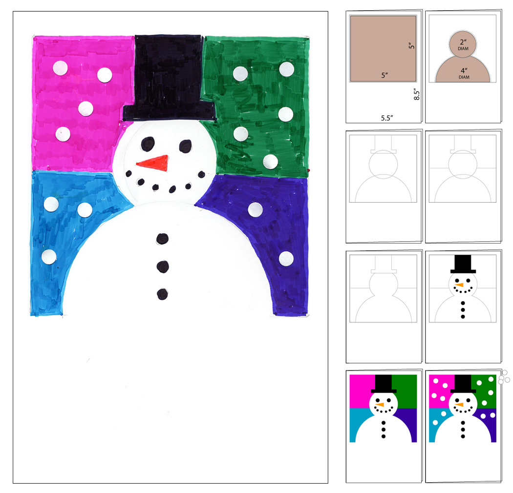 With Heart and Hands: Free Snowman Quilt Patterns