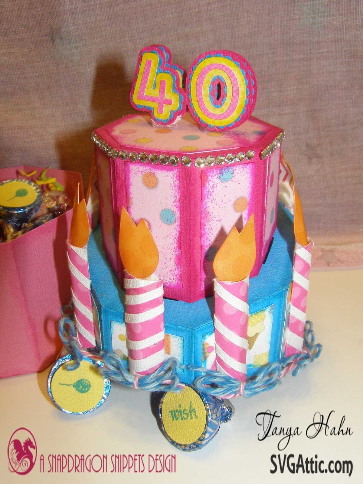 Svg Attic Blog My Birthday Cake