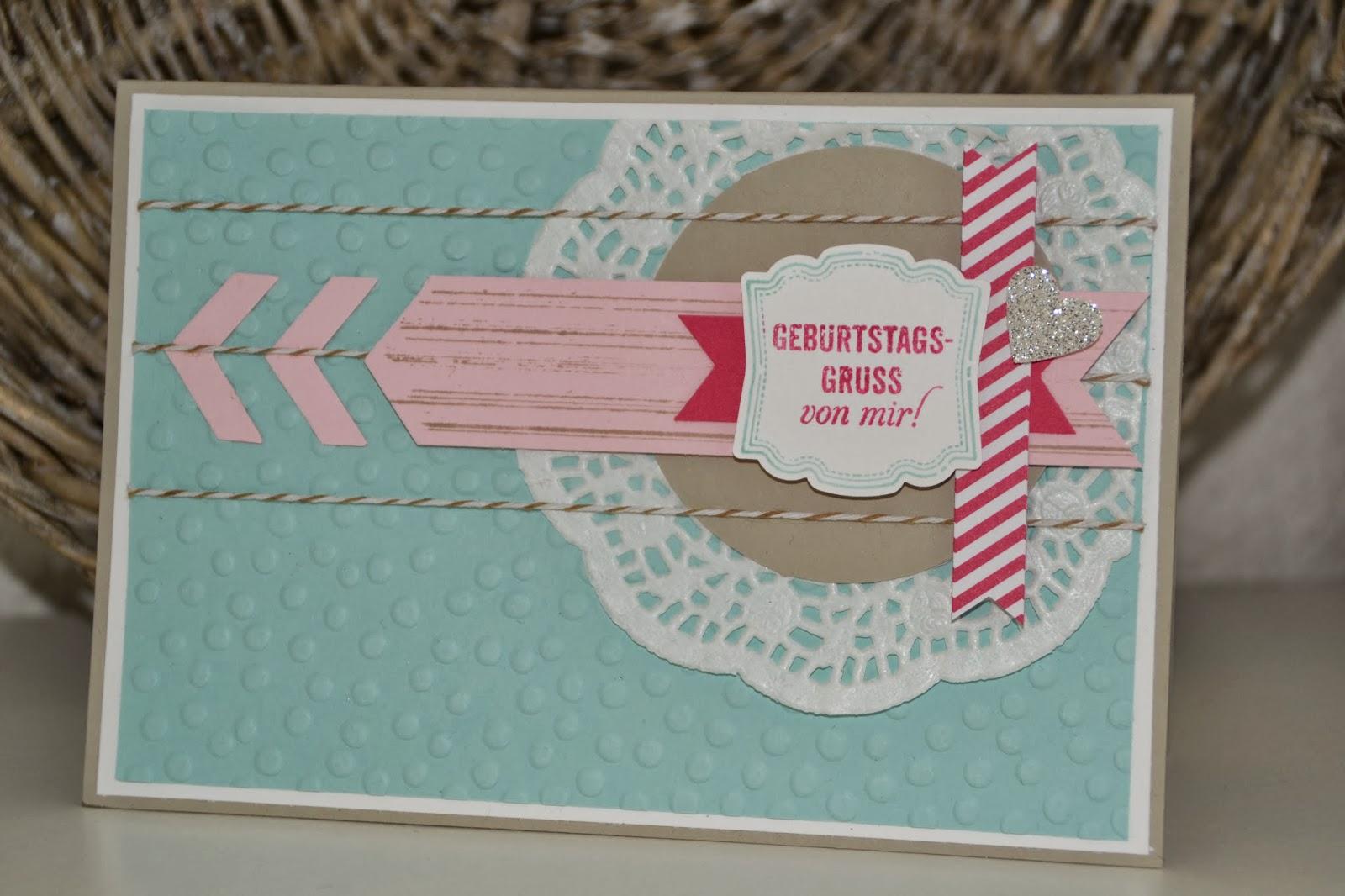 Kreativ mit Liebe!: Geburtstagskarte