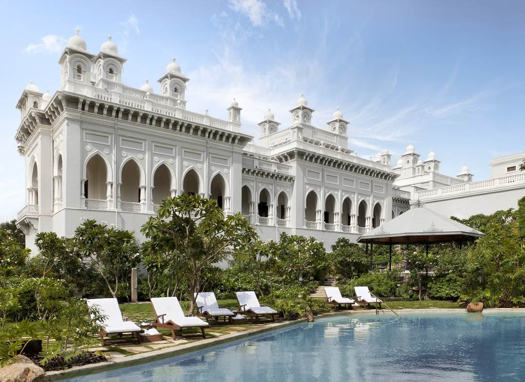 Falaknuma palace hyderabad india taj hotel for Top design hotels india