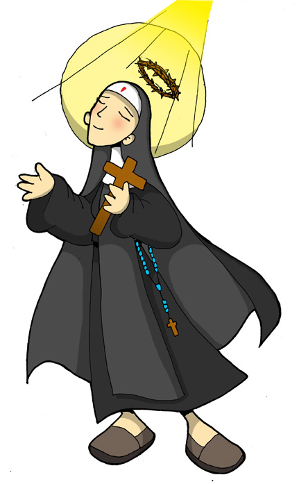 Matrimonio Joven Catolico : Dibujos para catequesis santa rita de cascia