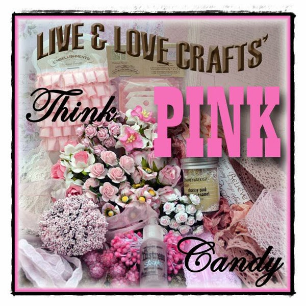Live & Love Crafts Think Pink Candy
