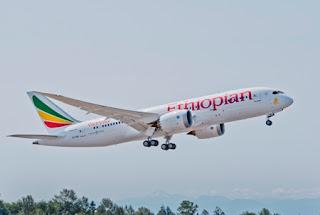 Ethiopian Boeing dreamliner