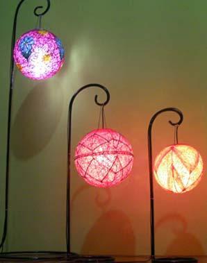 Lampion Benang