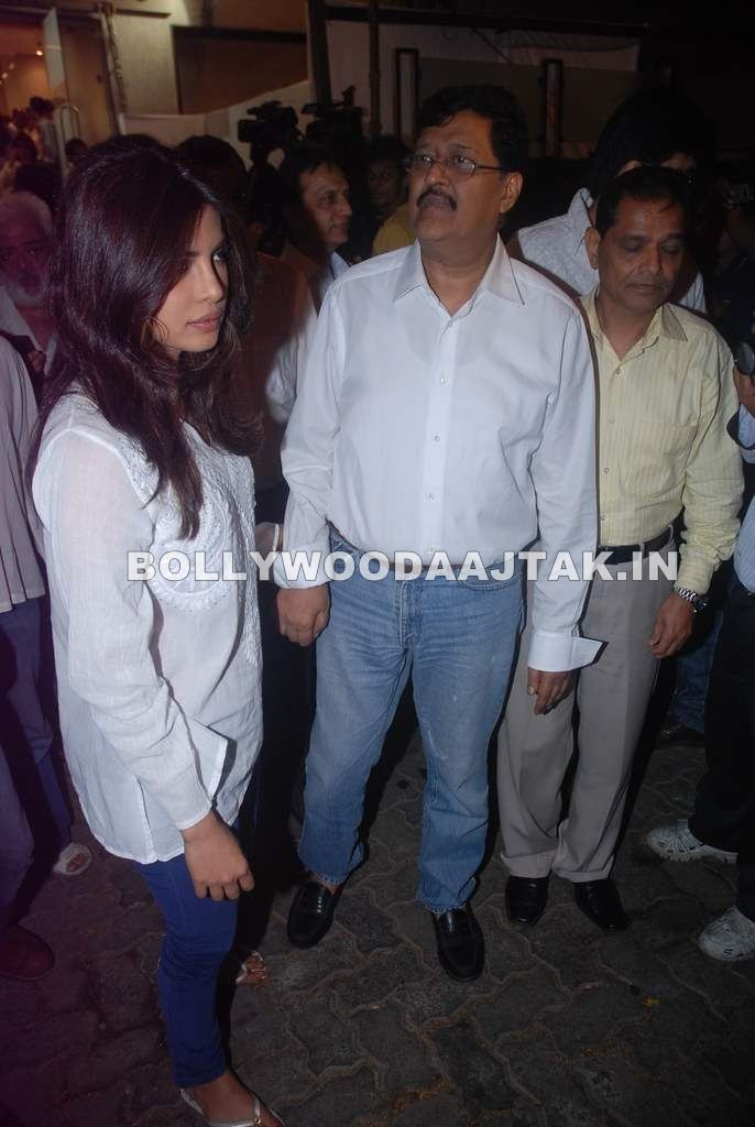 - Priyanka Chopra at Mona Kapoor prayer meet