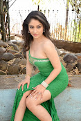 Ankita Sharma Hot photo shoto in Green-thumbnail-7