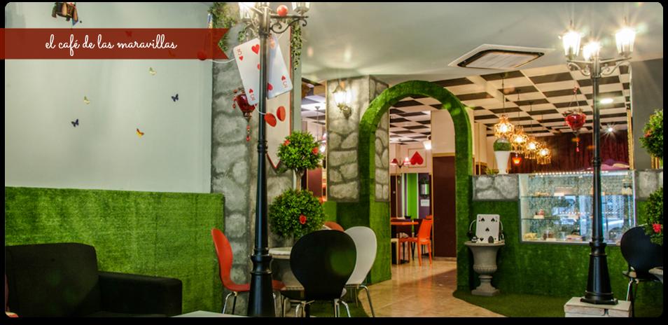 el café de las maravillas valencia cafetería bonita - sitios con encanto
