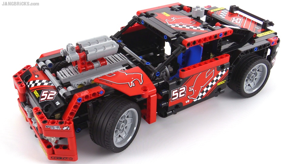 lego 8070 hot rod instructions