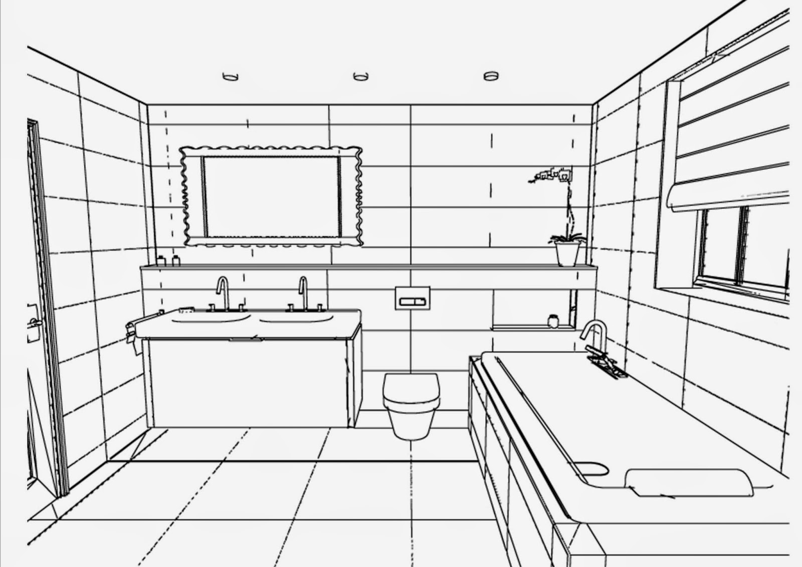 #3C3C3C Veja também como você pode renovar os azulejos sem gastar muito . 1600x1131 px Projeto De Cozinha Com Banheiro #2827 imagens