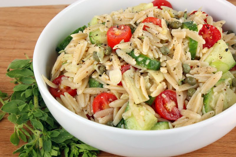 Greek Orzo Salad | Generation Y Foodie