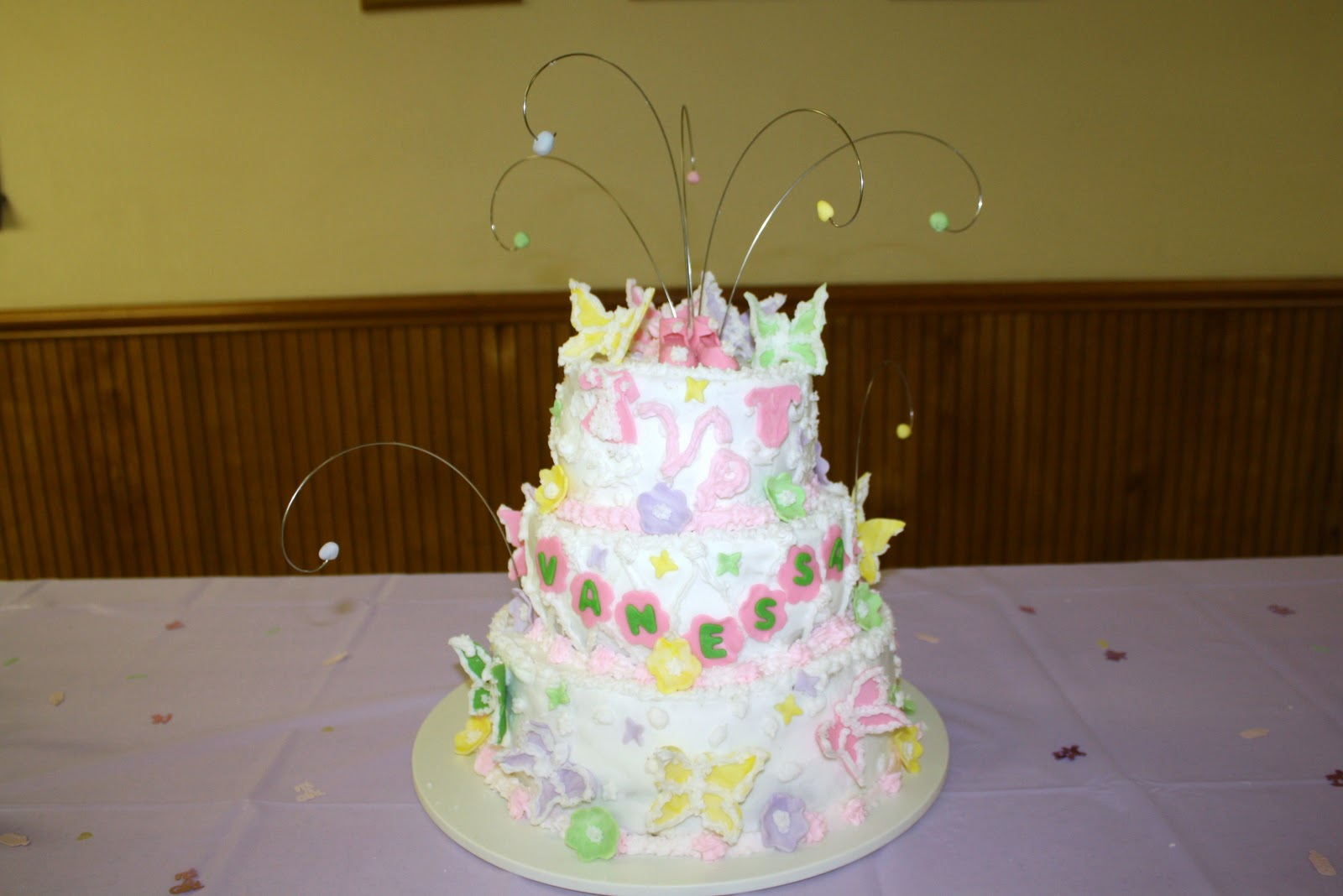 Butterfly Baby Shower Cake Images : teresa s sweet boutique: Butterfly baby shower cake.