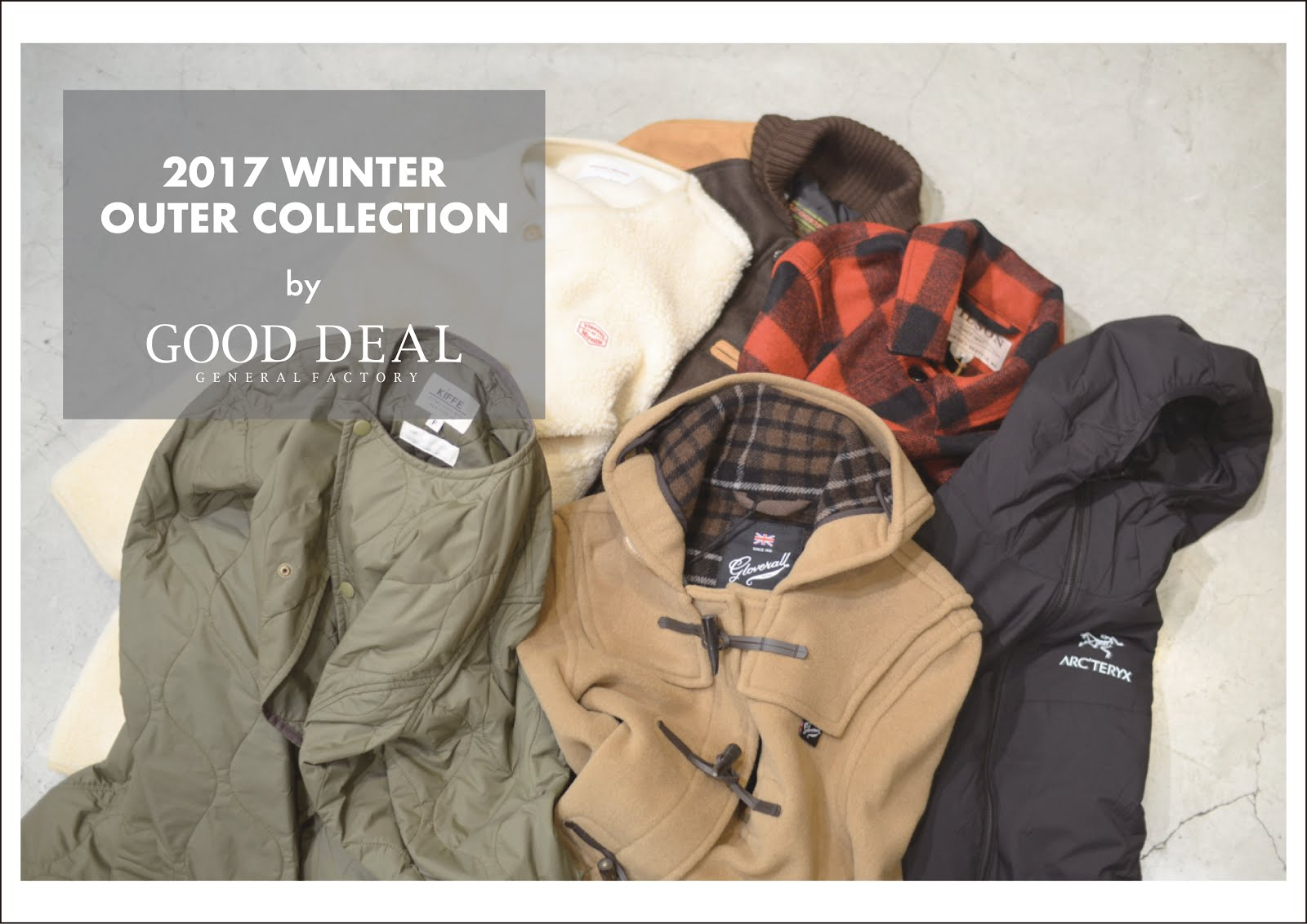 2017 WINTER OUTER COLLECTION