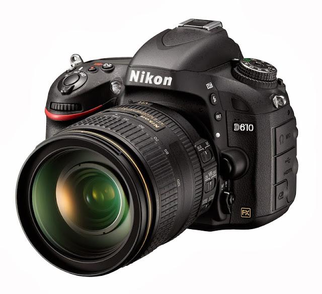 Fotografia della Nikon D610