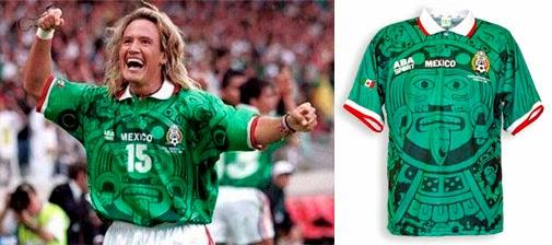 Las camisetas de fútbol más llamativas