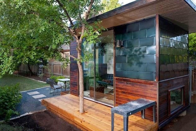 casilla moderna para el jardin minimalistas 2015