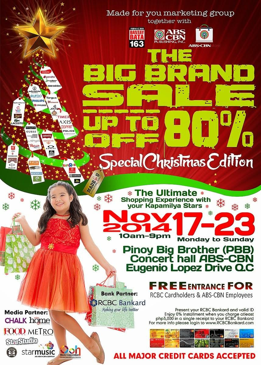 Big Brand Sale: Christmas Edition