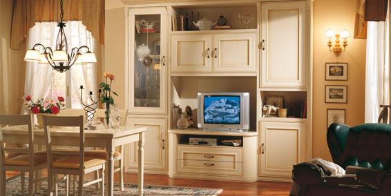 Dise o e interiores de comedores cl sicos beige ideas - Disenar salon comedor ...