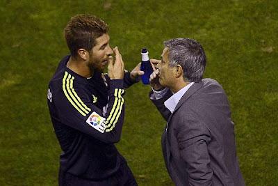 Mourinho se refirió sus `conflictos´ con Ramos