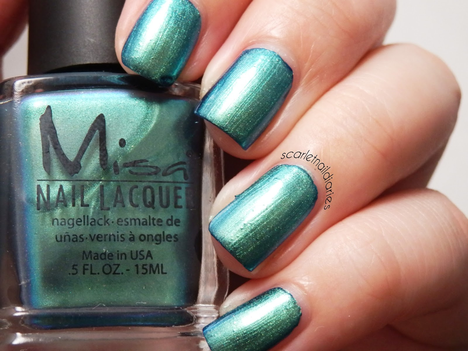 The Scarlet Nail Diaries: Misa The Great Green Whatsit