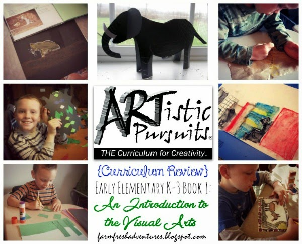 ARTistic Pursuits~ Curriculum Review of Art Program for K-3