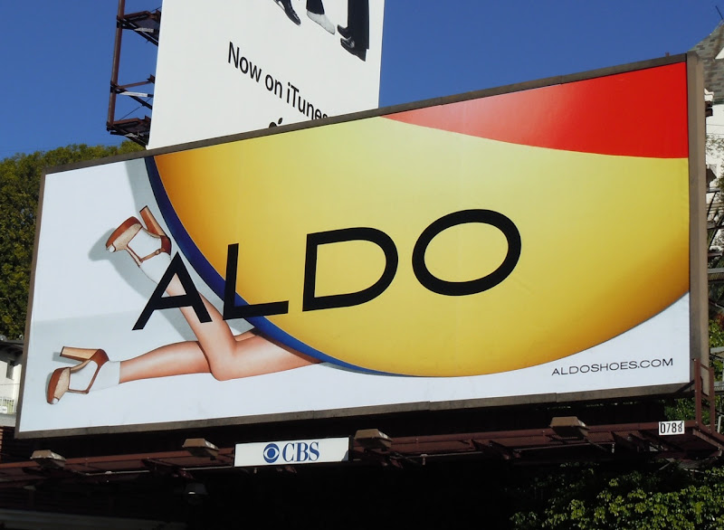 Aldo Shoes billboard