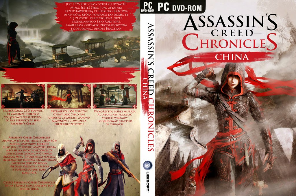 Download Assassins Creed Chronicles China PC assassin s creed chronicles china cover by kamlotac d8o3sre