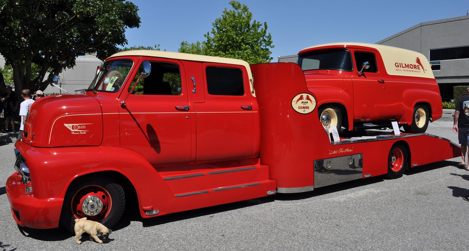 Http justacarguy blogspot com 2010 03 king cab 1950s coe ford hauler from html for how it looked in 2010 with a pick up on the back
