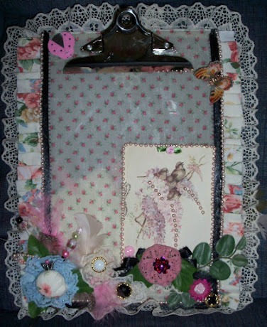 Vintage Altered Clipboard