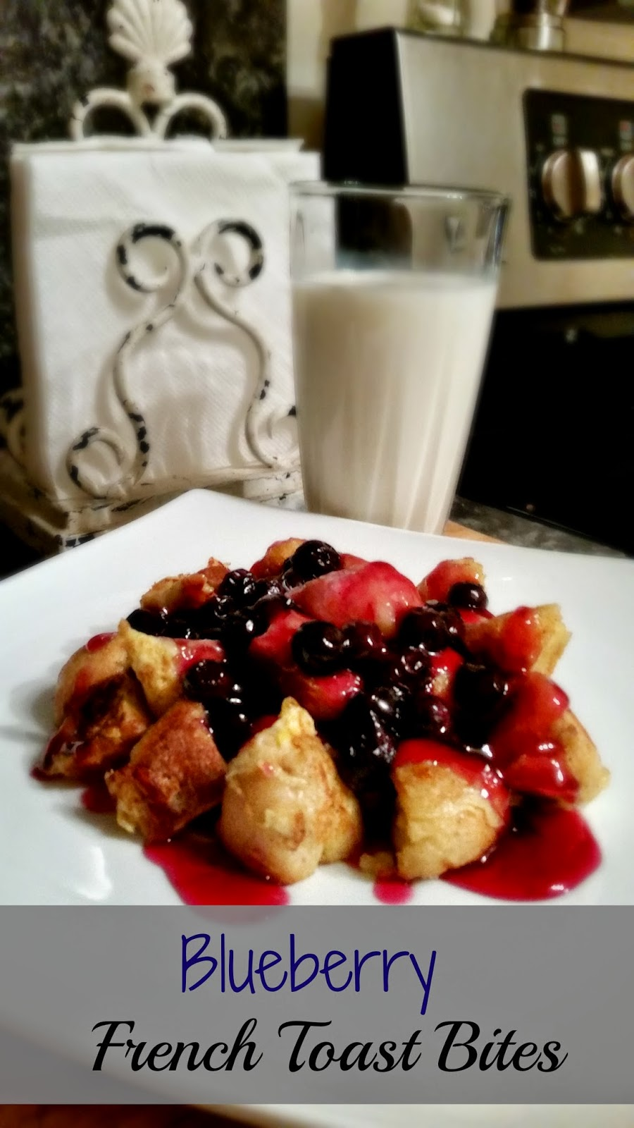 Rhodes-bread-breakfast. Blueberry French Toast Bites
