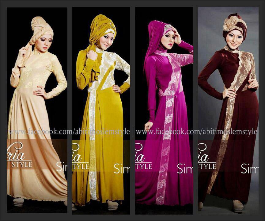Baju Muslim Gaya Fitria Style Simphony