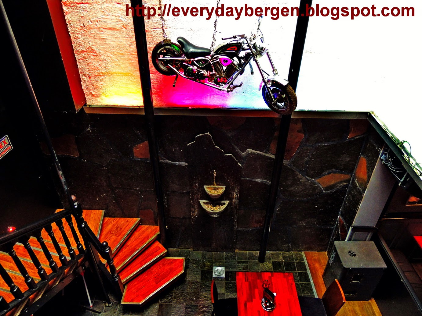 INSIDE Bergen Rock Cafe