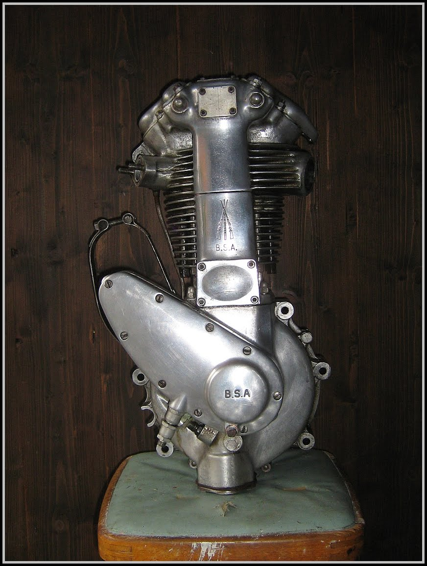 A 1951 350 Goldie motor is now