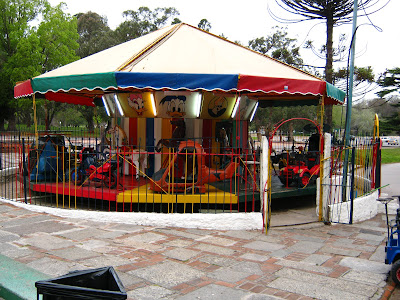 carousel near the lake Prado Montevideo Uruguay