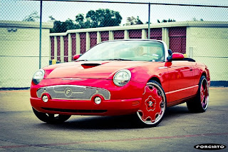 Ford Thunderbird on Forgiato Wheels