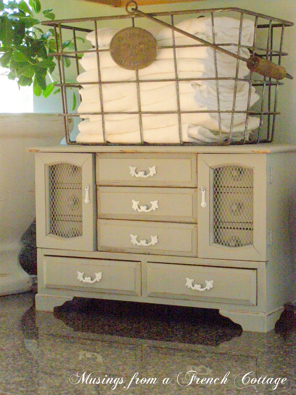 Musings From A French Cottage Turn A Jewelry Box Into A