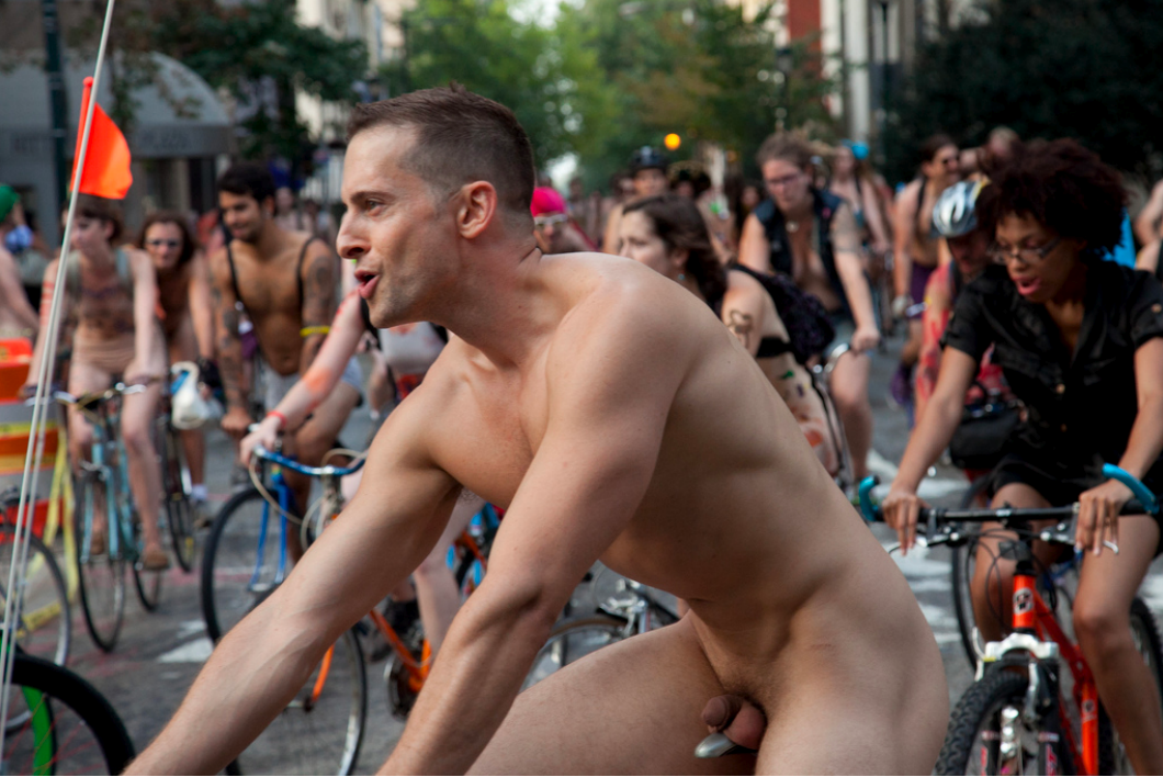 Have naked bike ride nude thanks
