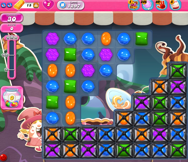 Candy Crush Saga 1297