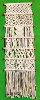 Схема плетения панно на стену