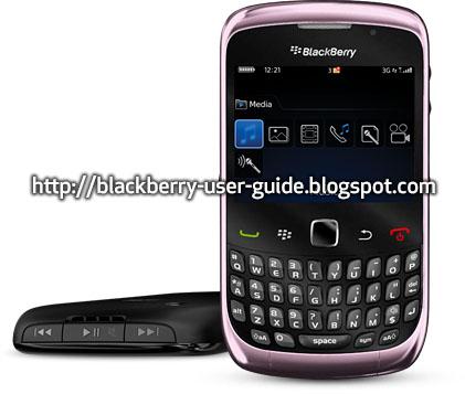 Blackberry user guide 9720